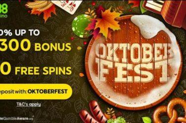 888 Oktoberfest Free Spins Bonus Code
