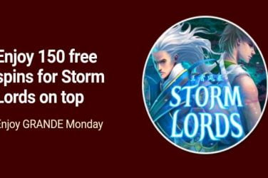 Grande Vegas Storm Lords Bonus Code