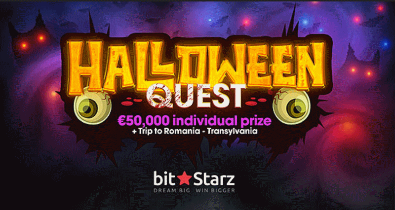 BitStarz Halloween Quest Promotion
