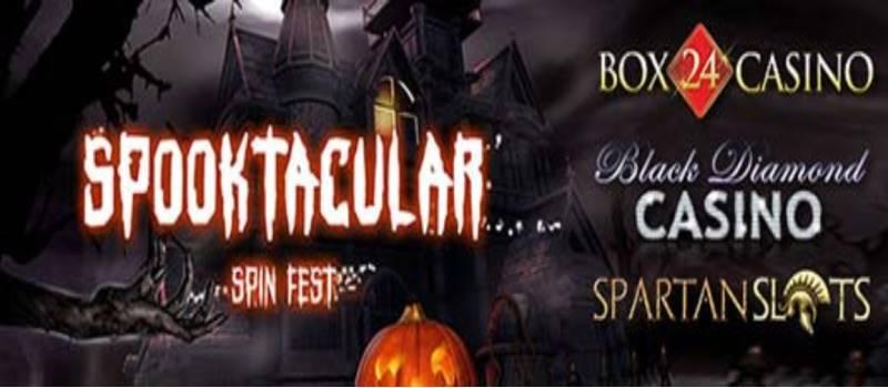 Spooktacular Spinfest Free Spins Raffle