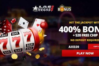 Las Vegas USA $20 Free Chip Code