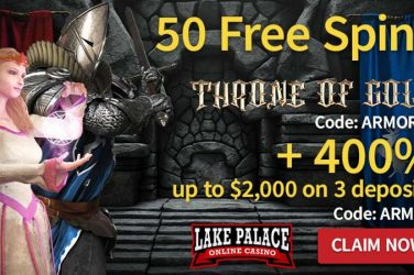 Lake Palace Throne of Gold Bonus Codes