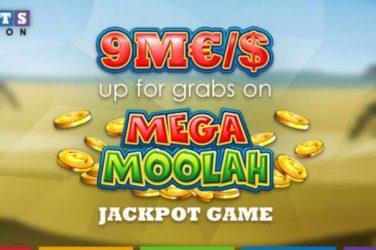 SlotsMillion 9M€$ Mega Moolah Jackpot