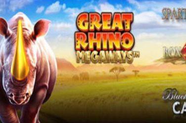 Great Rhino Megaways Bonus & Free Spins