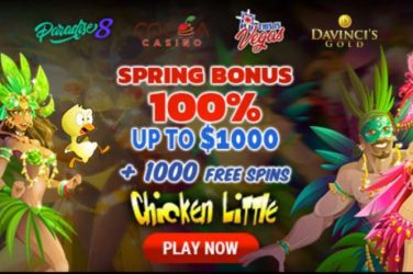 Chicken Little Spring Free Spins Bonuses