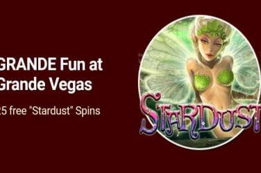 Grande Vegas Stardust Bonus Codes