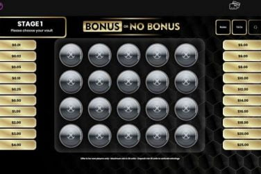 Jackpotcity Bonus Or No Bonus Game