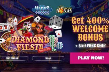 Vegas Casino Online Exclusive Bonus Code