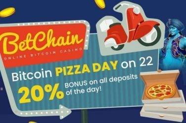 BetChain Bitcoin Pizza Day Promo
