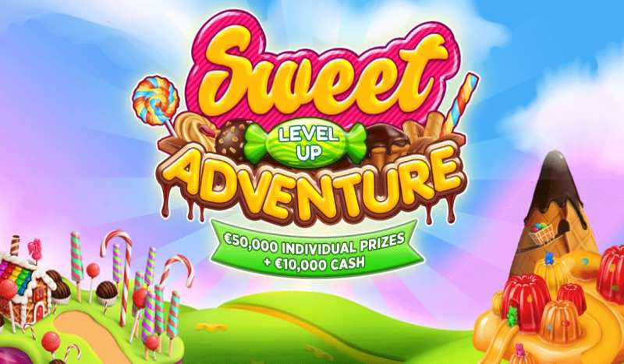 BitStarz Sweet Level Up Adventure