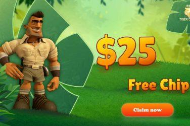 888 Tiger Casino $25 FREE Chip