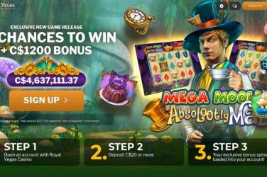 Absolootly Mad Mega Moolah Exclusive Bonus