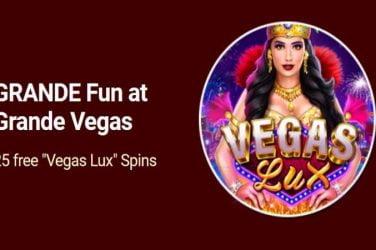 GrandeVegas Vegas Lux Bonus Codes