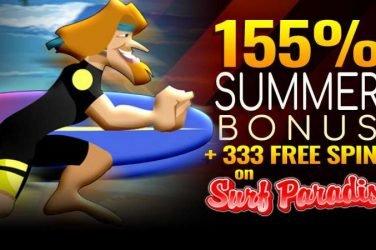Summer Surf Paradise Free Spins Bonuses