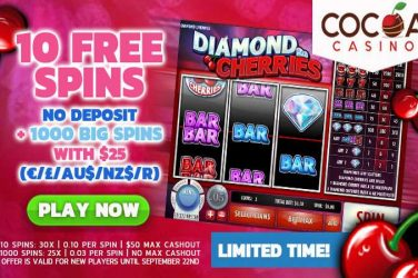 Cocoa Diamond Cherries Slot Free Spins