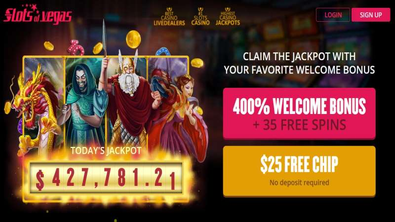 Slots of Vegas Free Spins + Free Chip Codes