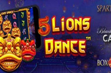 5 Lions Dance Slots Bonus & Free Spins