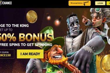 kingschance bonus code chance150
