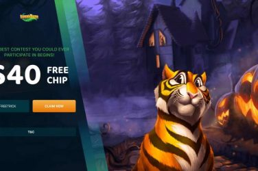 Lucky Tiger Free Chip Halloween Bonus