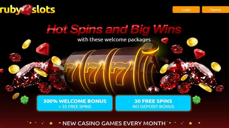 Ruby Slots Bonus + Free Spins Codes