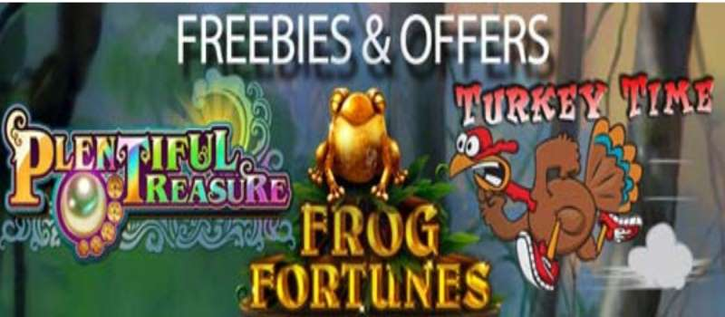 Thanksgiving Bonuses and Free Spins Codes