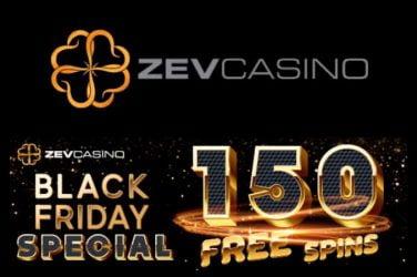 ZevCasino Black Friday Free Spins Bonus