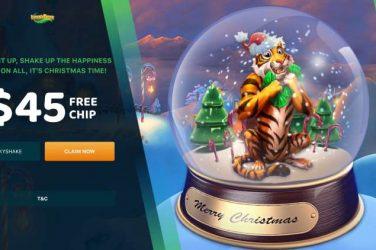 Lucky TigFree Chip Christmas Bonus