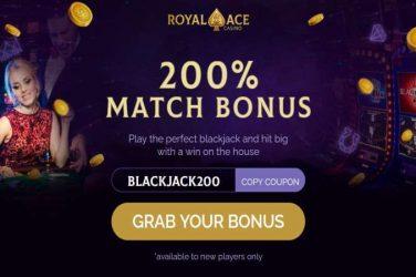 royalace blackjack200 code