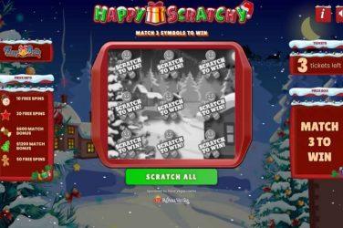 Royal Vegas Scratchy Christmas Promotion