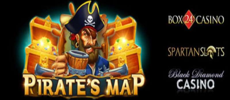 Pirate's Map Slots Bonus & Free Spins