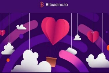 Bitcasino Valentines BIG RED HEART Promo