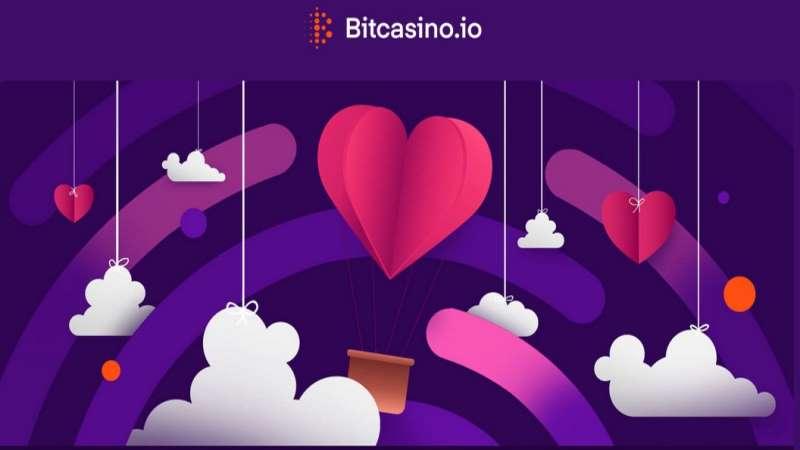 Bitcasino Valentines BIG RED HEART Promo
