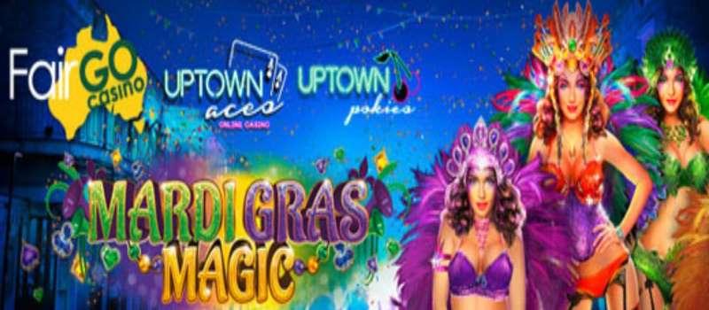 Mardi Gras Magic Free Spins & Deposit Codes