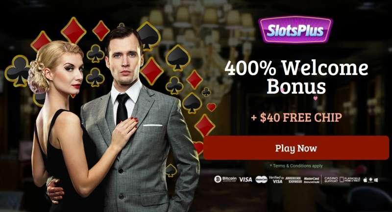 Slots Plus Free Chip using GEN40