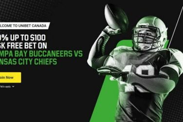 Unibet Canada Risk Free bet CHIEFS vs. BUCS