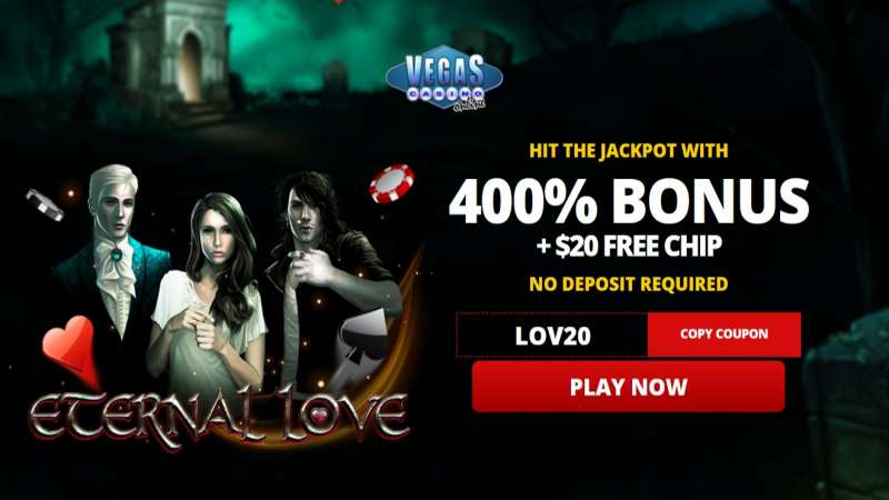 Vegas Casino Online Eternal Love Code