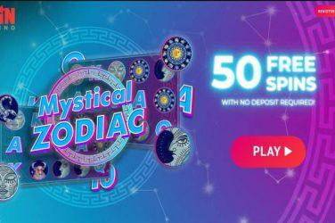 spin casino 50 free spins Mystical Zodiac