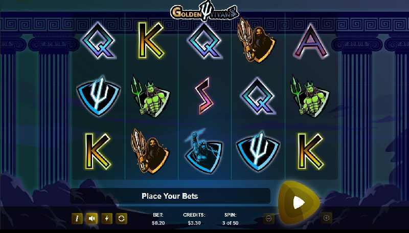 Golden Titans Screenshot