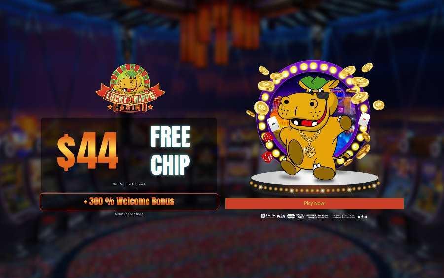 Lucky Hippo Casino Kode bonus Chip Gratis FPC44