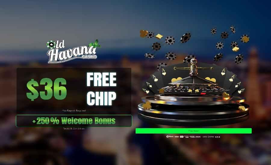 Kasino Havana Lama $36 Gratis Chip FPC36
