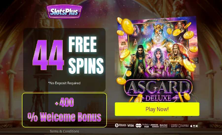Bonus Slots Plus Kasino Asgard Deluxe