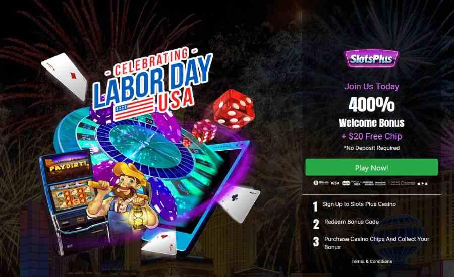 Slots Plus Kode Bonus Hari Buruh